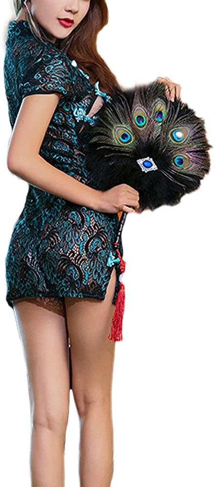 Bling Bling Women Sexy Lingerie Lace Teddy Bodysuit Chemise One Piece Mesh Nightwear Sleepwear