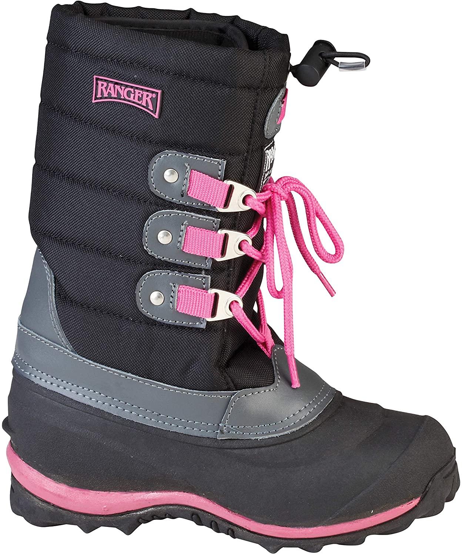 Ranger by Honeywell Kids' Winter Boots. Tundra II Black