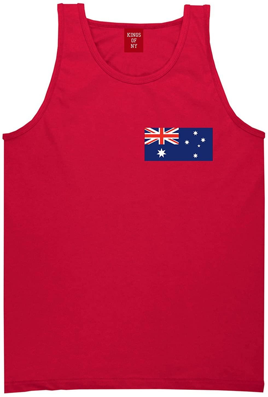 Australia Flag Country Chest Tank Top Shirt