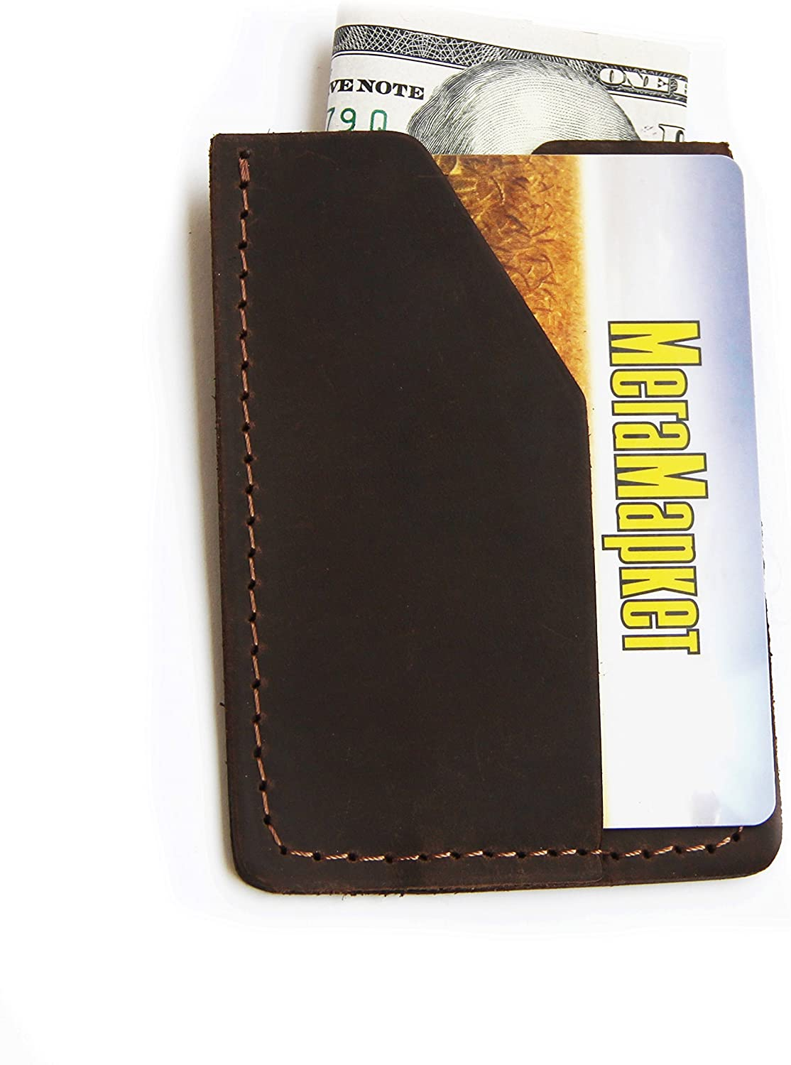 Wallet Credit Card wallet Minimalist Small Slim Crazy horse Designer Card Holder