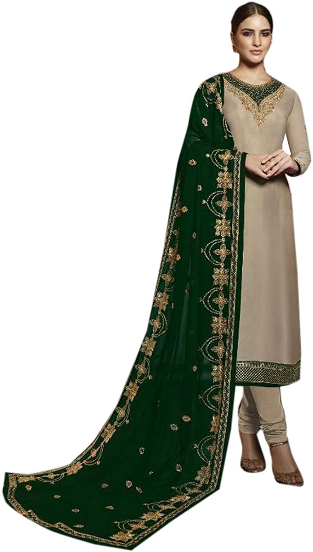 Indian Dress Ready to Wear Salwar Suit Party/Wedding wear Dresses for Women Designer Straight Salwar Kameez
