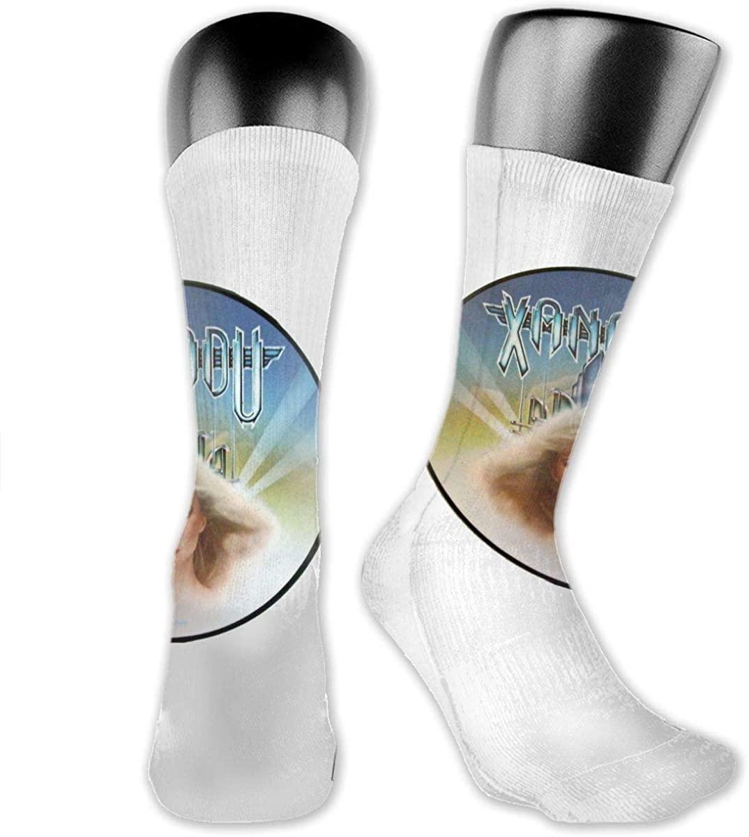 RhteGui Olivia Newton John Xanadu Crew Socks Breathable Athletic Casual Socks for Unisex