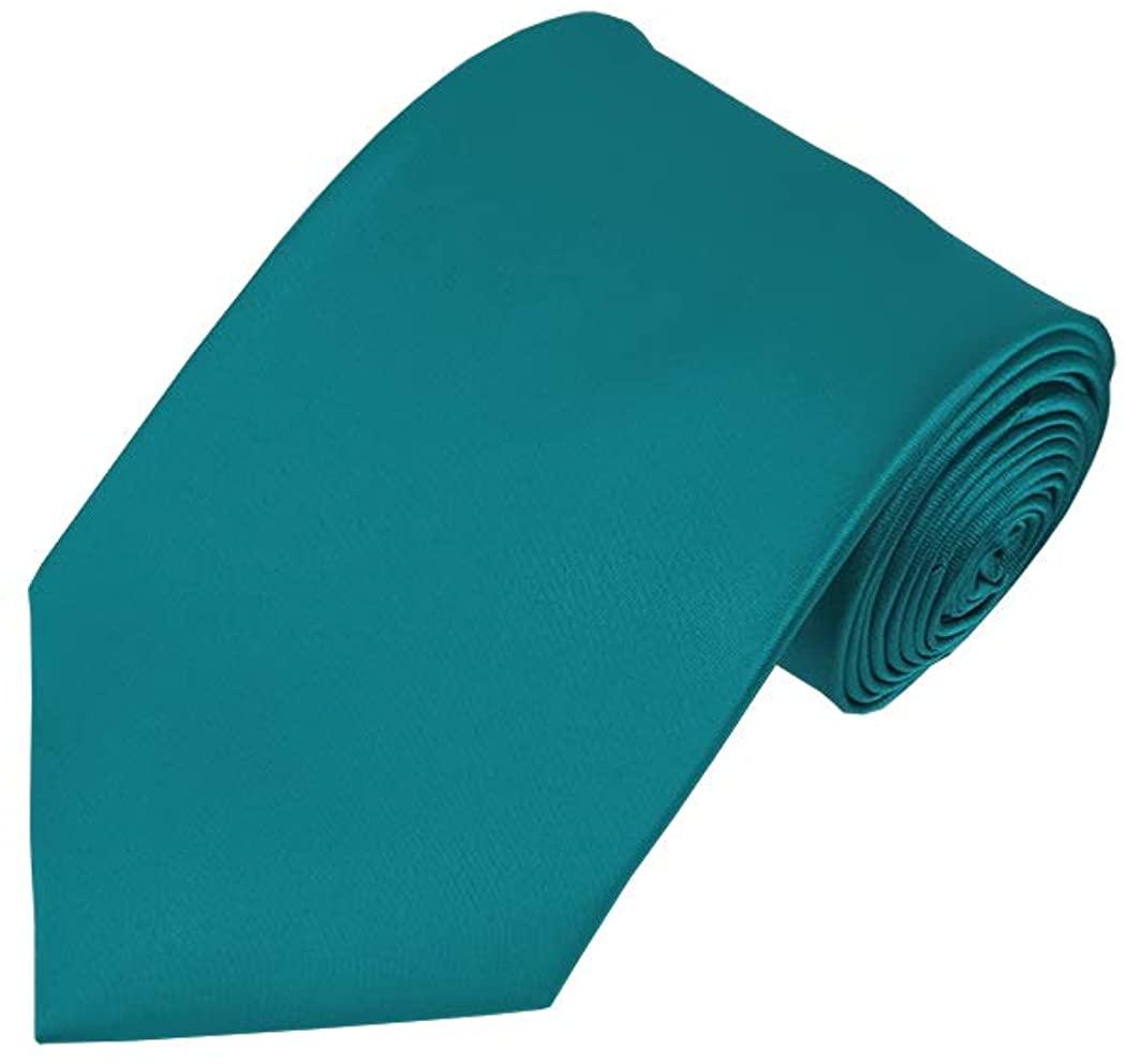 Solid Oasis Traditional Men's Necktie
