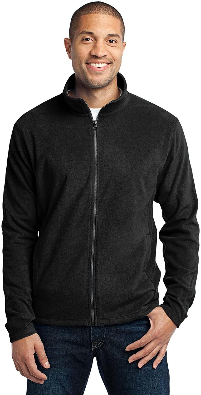 Port Authority Microfleece Jacket. F223 Black L