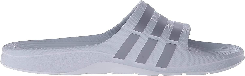 adidas Performance Mens Duramo Slides,Onix Grey/Grey,7 M US