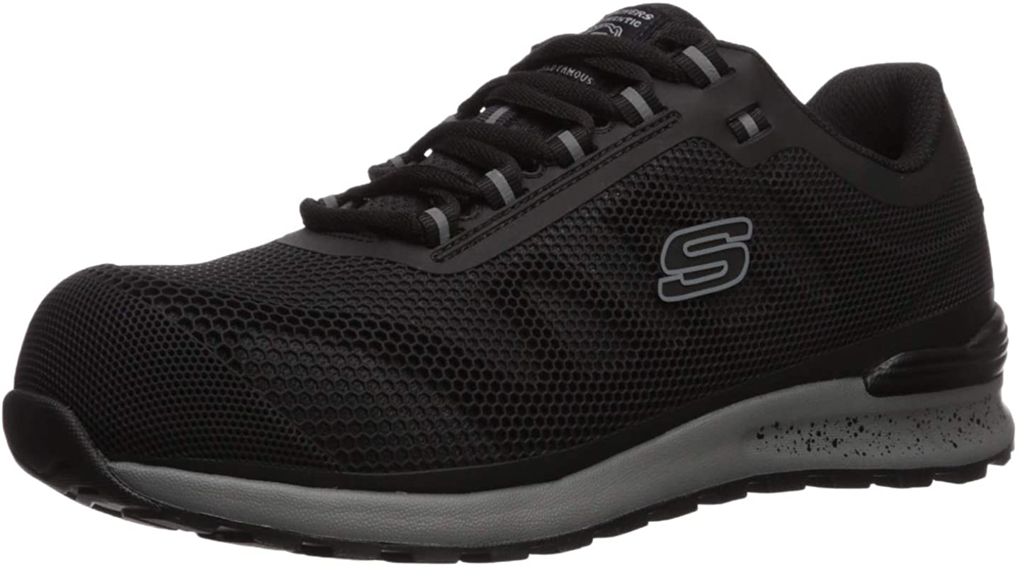 Skechers Men's New Bulkin Industrial Shoe