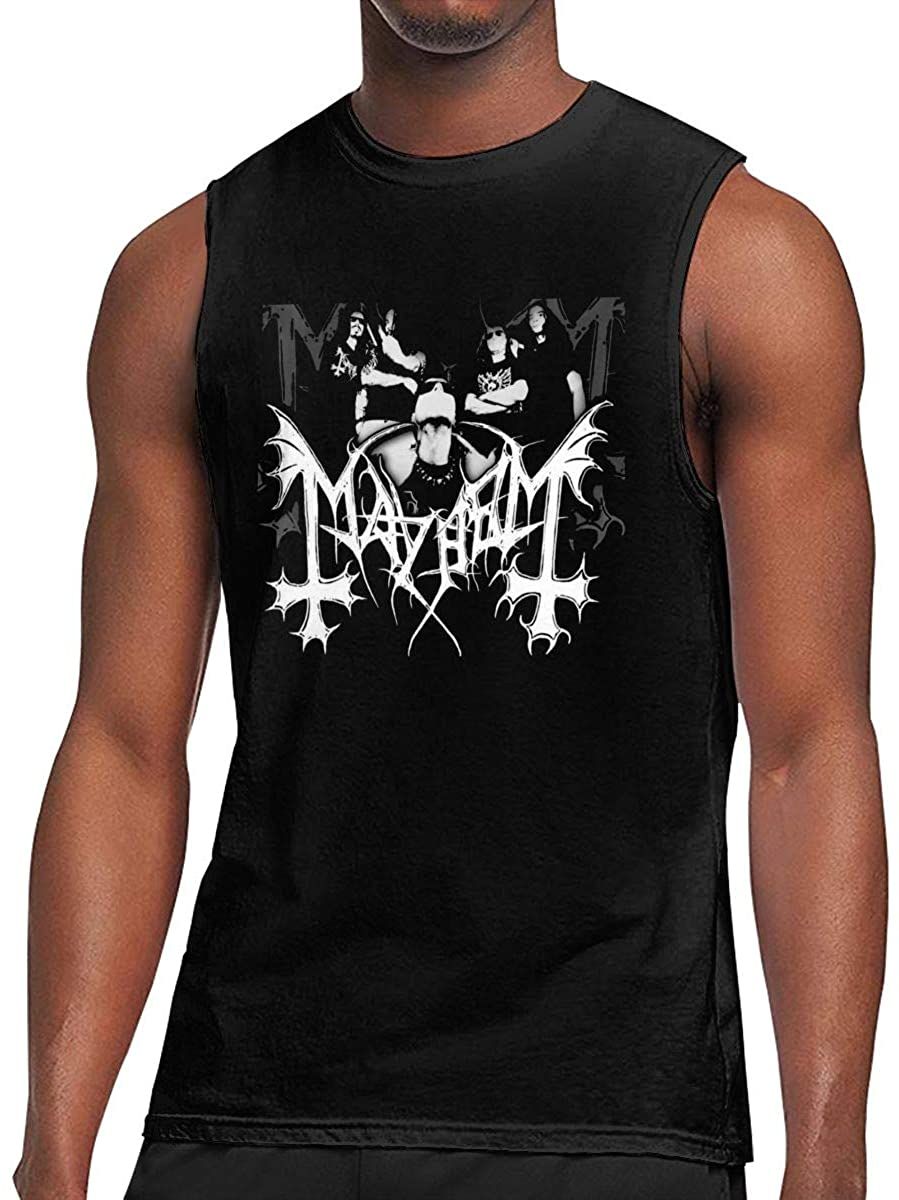 Mr.Wessly Mayhem Men's Comfortable and Breathable Tank Top
