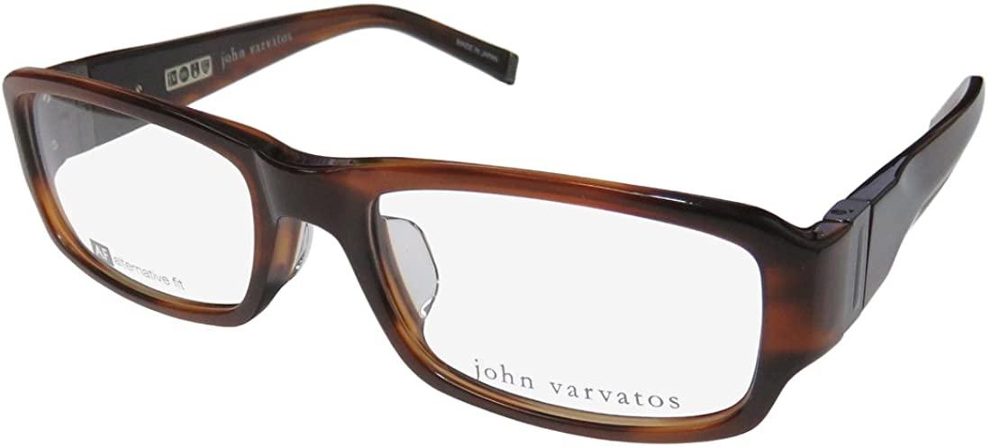 John Varvatos V341af Mens Designer Full-rim Spring Hinges Prestigious Brand Trendy Eyeglasses/Eyeglass Frame