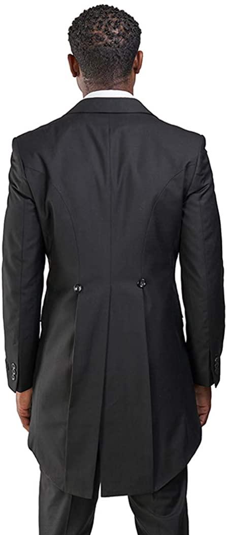 Slim fit 1 Button Peak Lapel Dinner Jacket Only Tailcoat Frock
