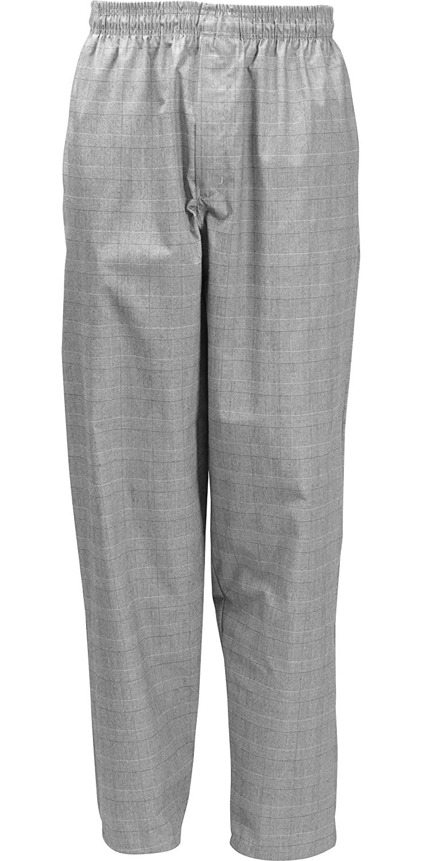 Fame Fabrics 82705 C17 Designer Chef Pants, Glen Plaid, 4X