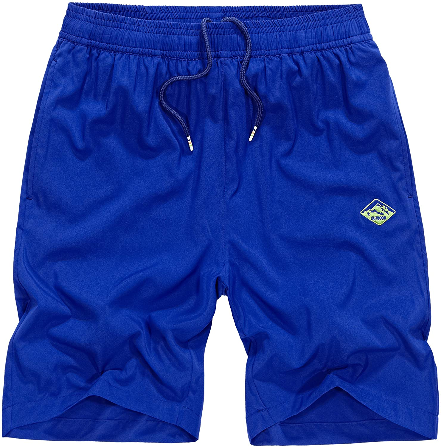 Vcansion Men's Outdoor Lightweight Hiking Shorts Quick Dry Sports Casual Shorts Skateboard Shorts Swimming Shorts