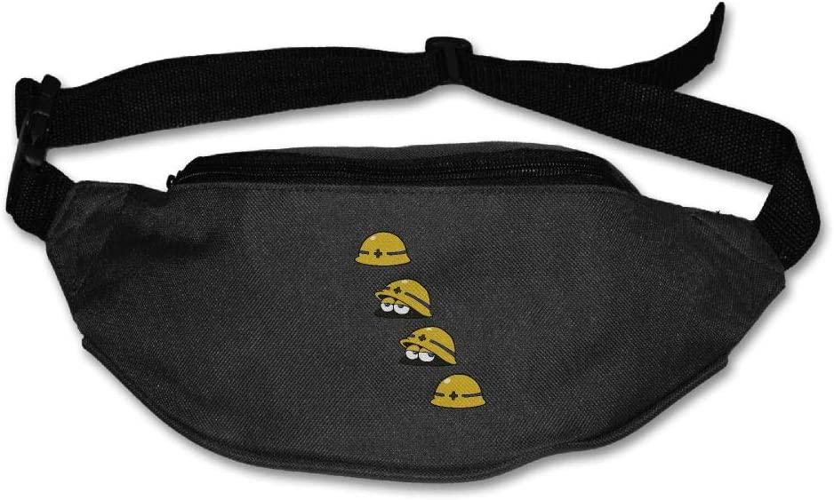 Eden Edies The Three Funny Mets Unisex Waist Pack Bag Belt