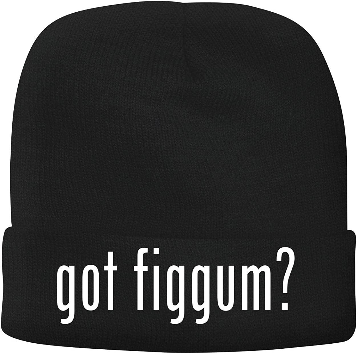 BH Cool Designs got Figgum? - Men's Soft & Comfortable Beanie Hat Cap