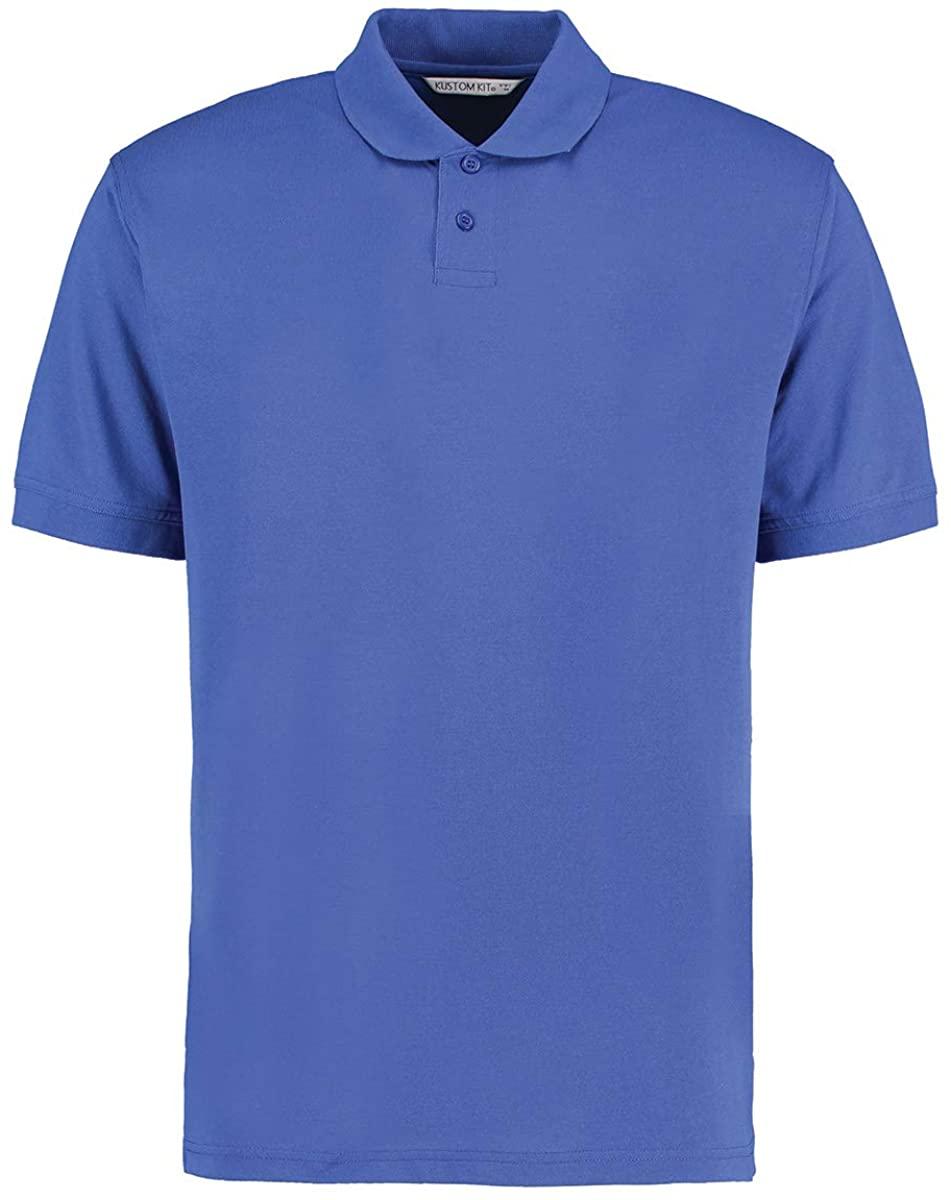 KUSTOM KIT Mens Regular Fit Workforce Pique Polo Shirt