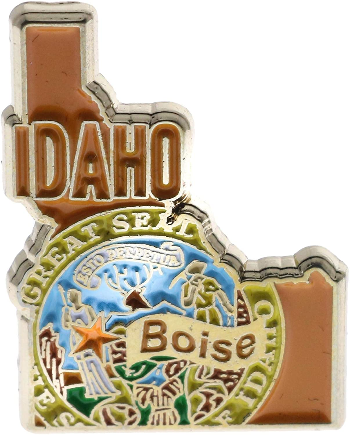 Idaho State Hat or Lapel Pin AVAidaho