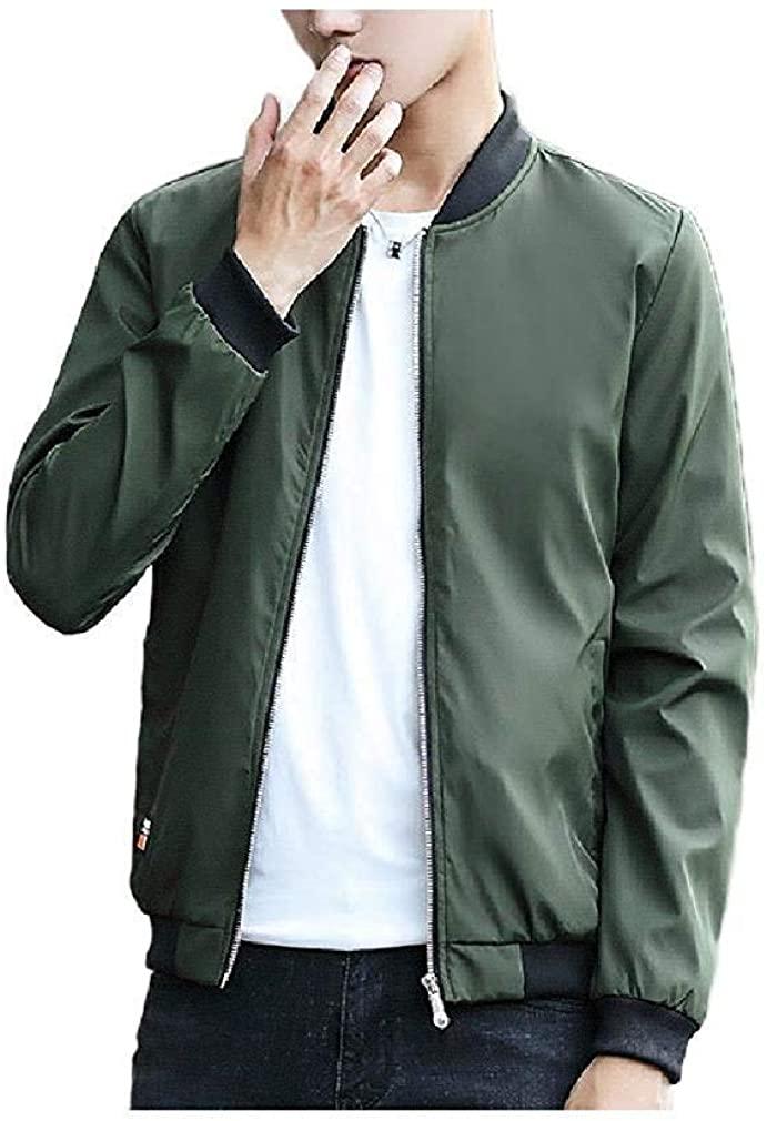 Men Parka Hoodie Jackets Classic Plus-Size Baseball Coat Jacket