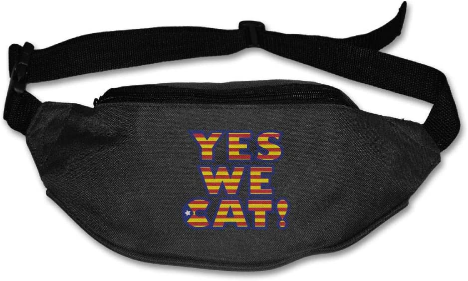 Eden Edies Yes We Cat USA Star and Stripes Design Unisex Waist Pack Bag Belt