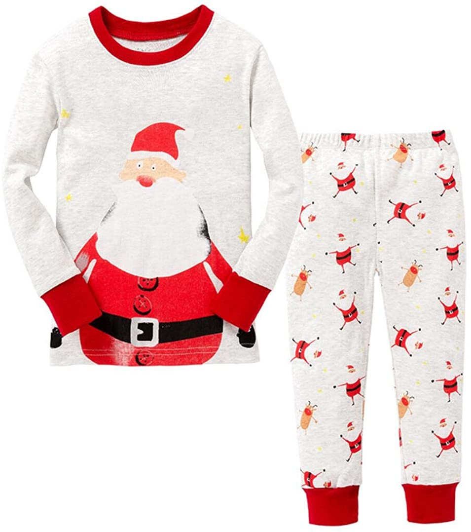 Mammybaby Christmas Kid's Pajamas Set Cotton Baby Clothes DRG7465