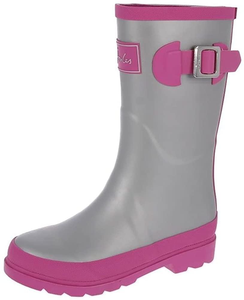 Joules JNR Girls Field Welly Rain Boot (Toddler/Little Kid/Big Kid)