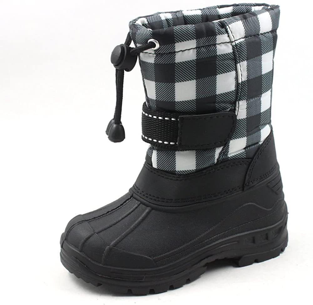 SkaDoo Kids Snow Boots Unisex Toddler-Big Kid