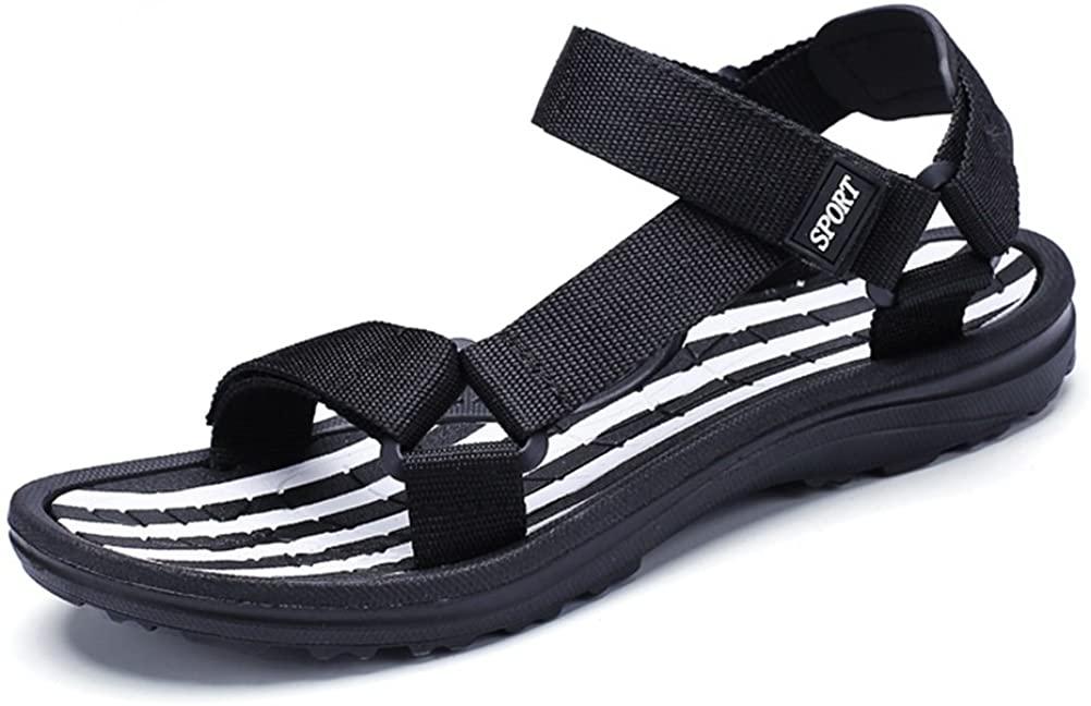 HUAN Summer Mens Beach Sandals Outdoor Sports Walking/Trekking Sandals Fashion