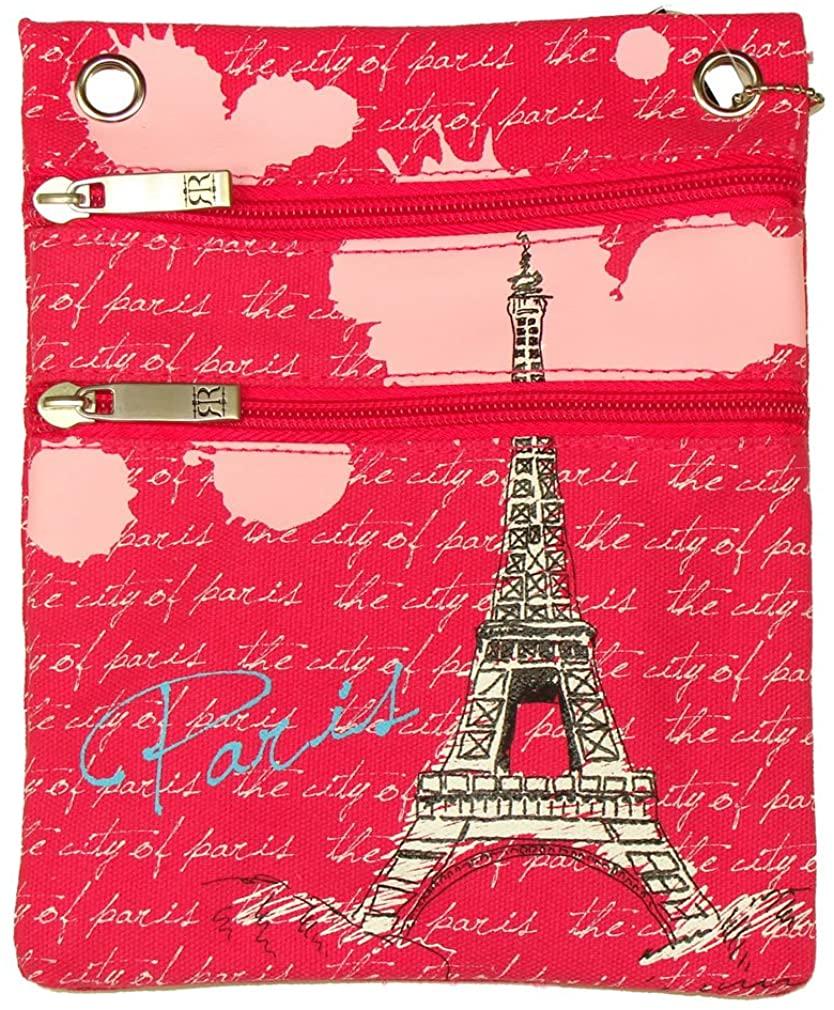 Paris Robin Ruth Passport Bag - Fuchsia