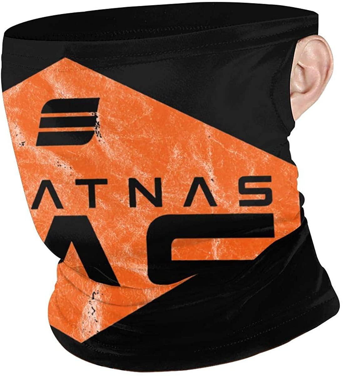 Beratnas Gas Logo Face Shield Scarf, Ear Hanging Windproof Seamless Women Man Neck Gaiter
