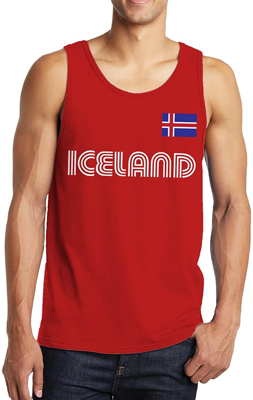 SpiritForged Apparel Iceland Soccer Jersey Men's Tank Top