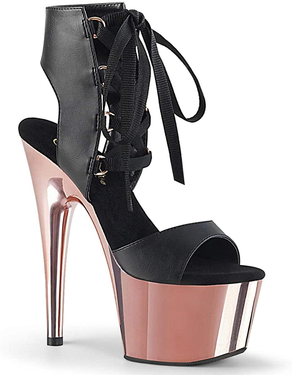 Pleaser Women's Adore-700-14 Ankle-Strap Sandal