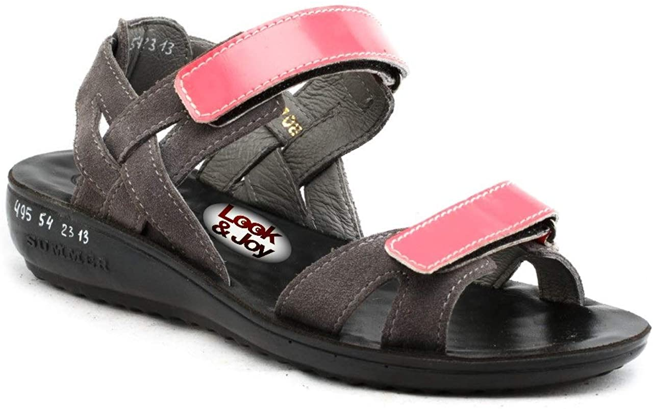 look&joy Womens Sandals from Leather Model 495-54