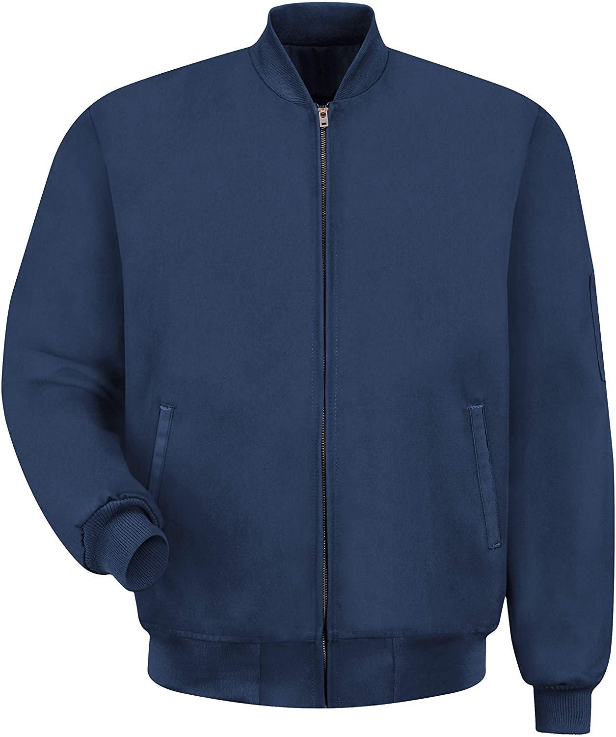 Red Kap Men's Navy Solid Team Jacket