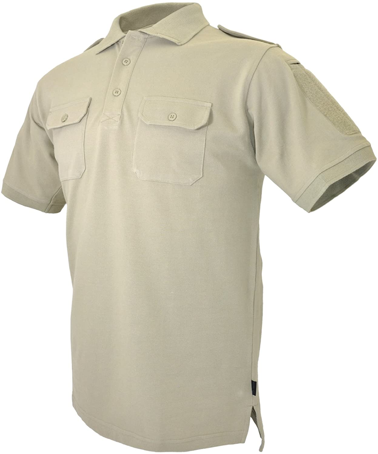 HAZARD 4 Leo Battle Polo(TM) Tactical Arm-Patch Areas/Chest Pockets Cotton Shirt by (R)