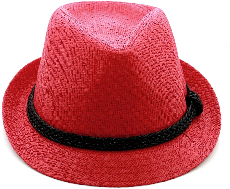 LUNADA BAY Paper Lightweight Straw Fedora Hat