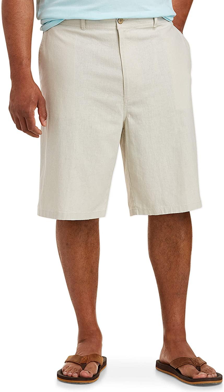 DHgate Essentials Men's Big & Tall Linen Blend 11
