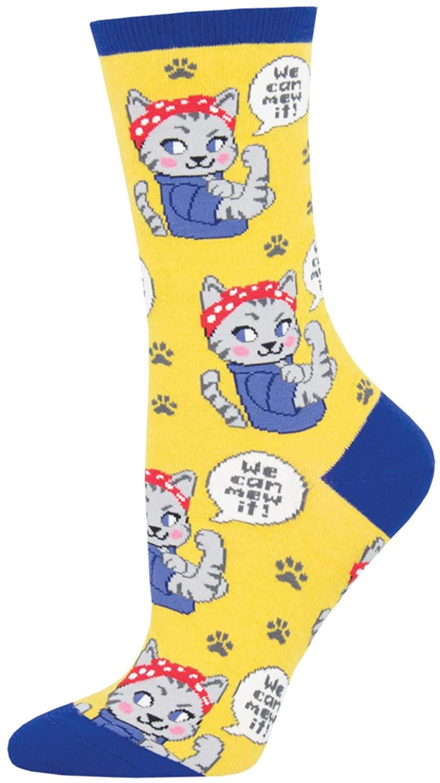 Socksmith Women's We Can Mew It