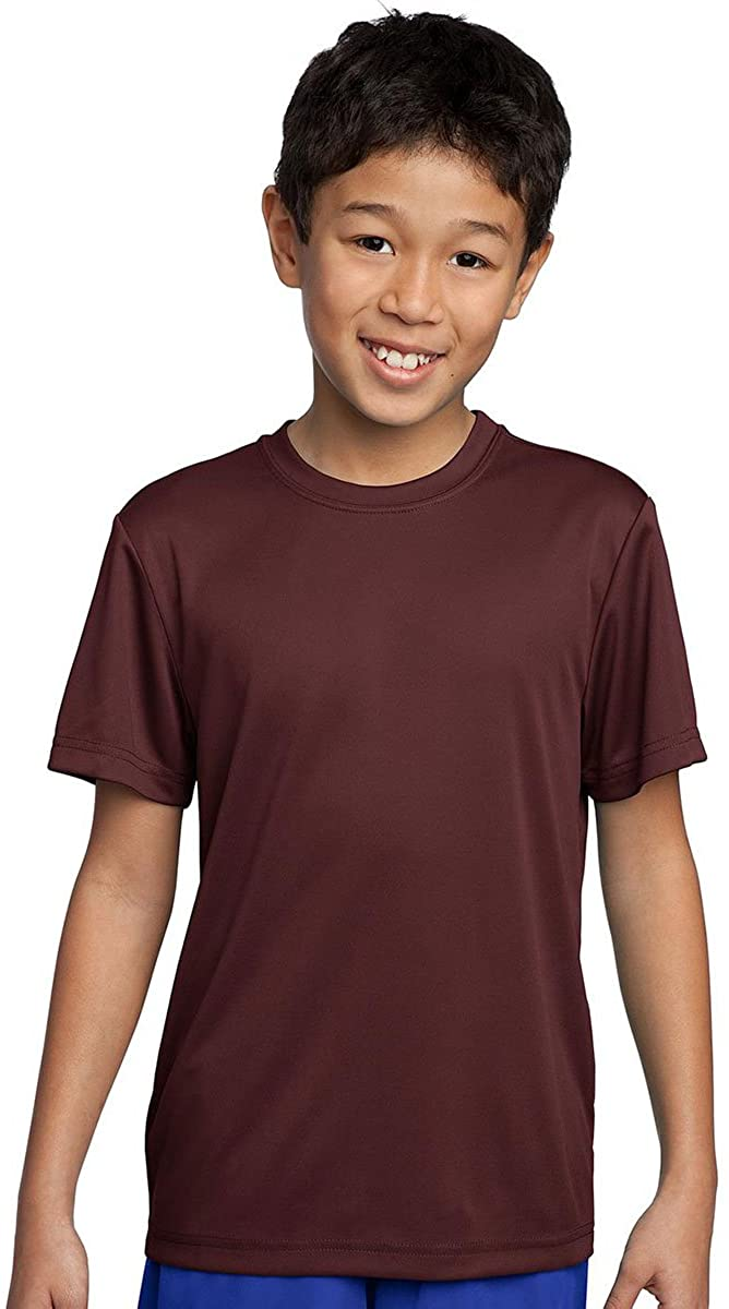 Sport-Tek - Youth Competitor Tee. YST350 - Maroon_XS