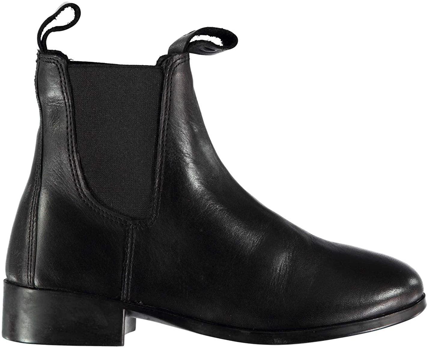 Dublin Elevation II Jodhpur Boots Juniors Boys Black Shoes Boot Kids Footwear