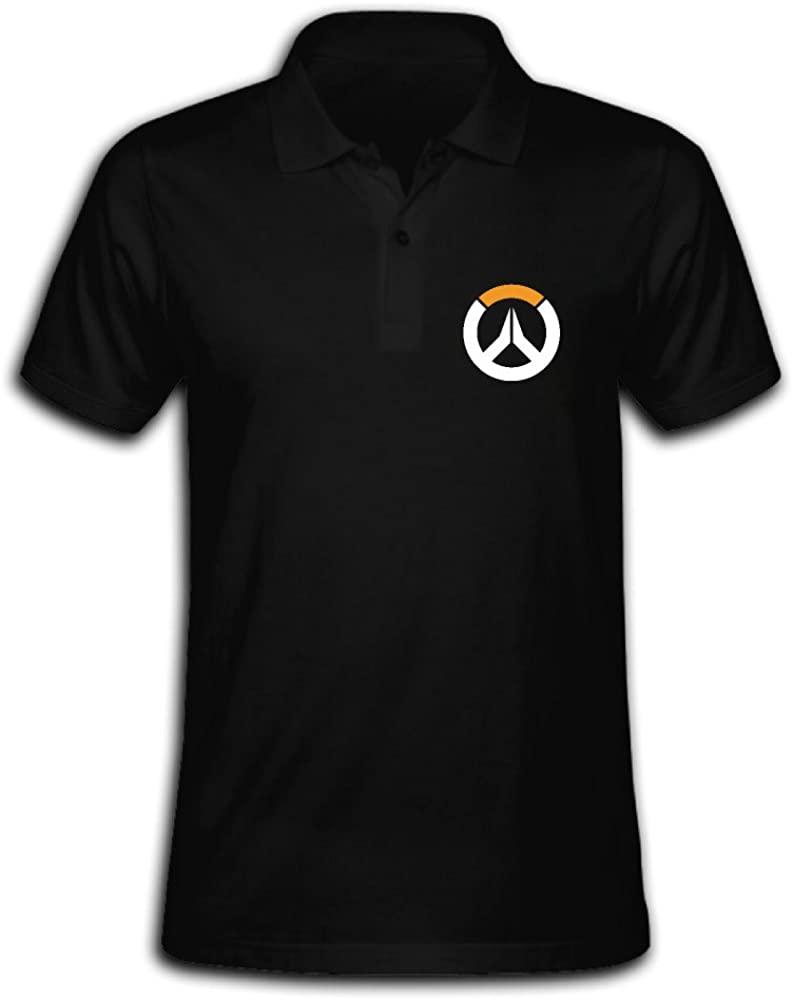 Men's Overwatch Sombra ARG Logo Hero Polo Shirt