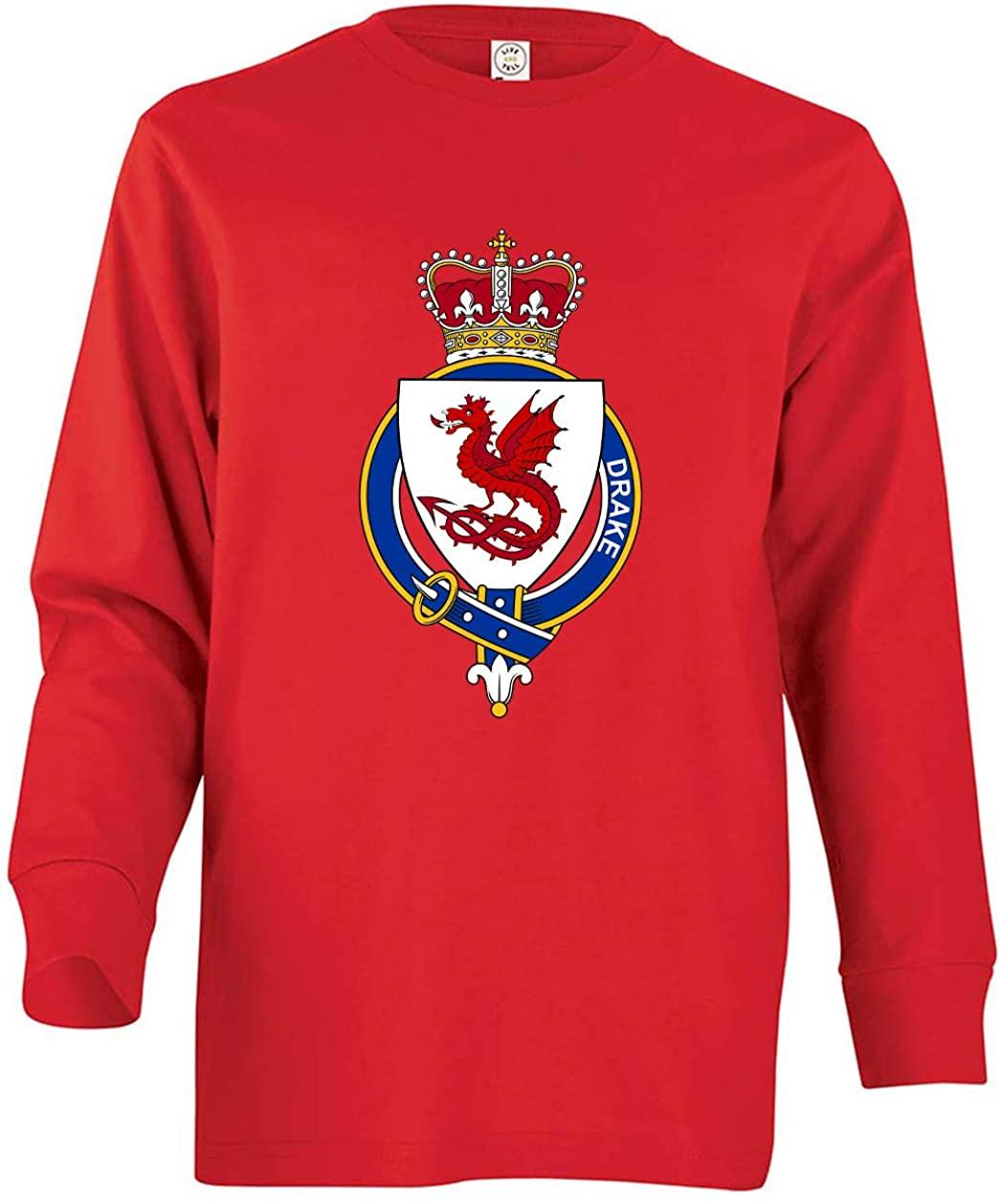 Tenacitee Girl's Youth English Garter Family Drake Long Sleeve T-Shirt