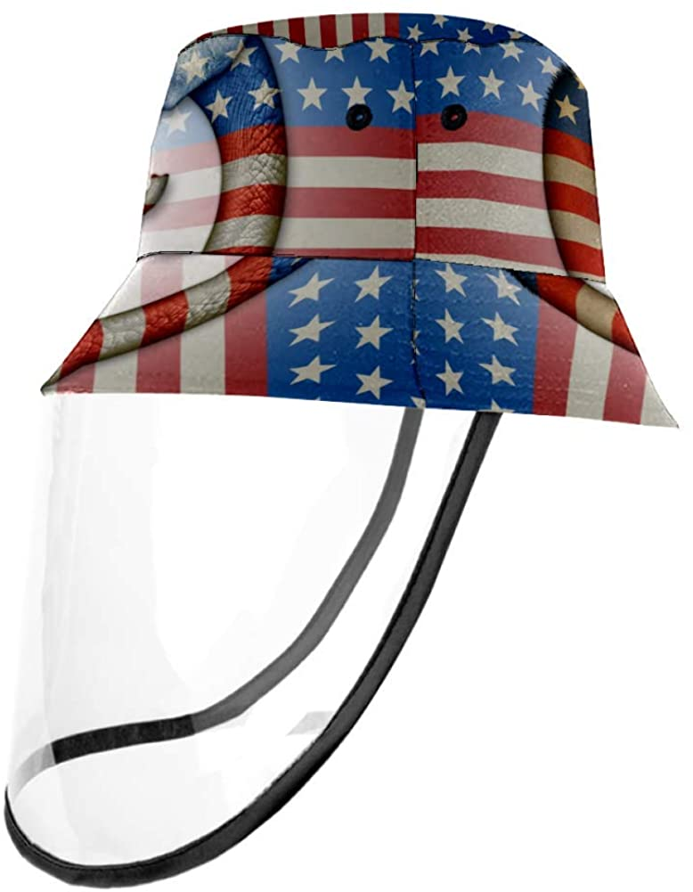 Democrats Animals Elephant Stars Stripes Outdoor Fisherman Hat Summer Beach Caps for Adults