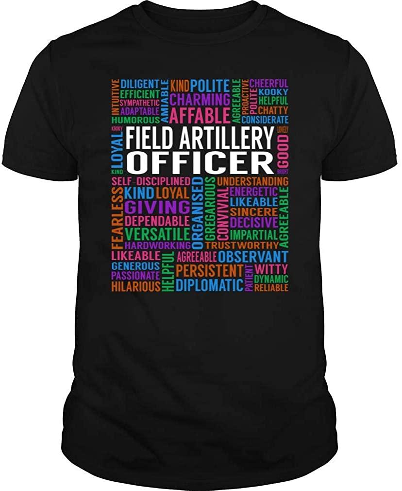 TeeTina Field Artillery Officer