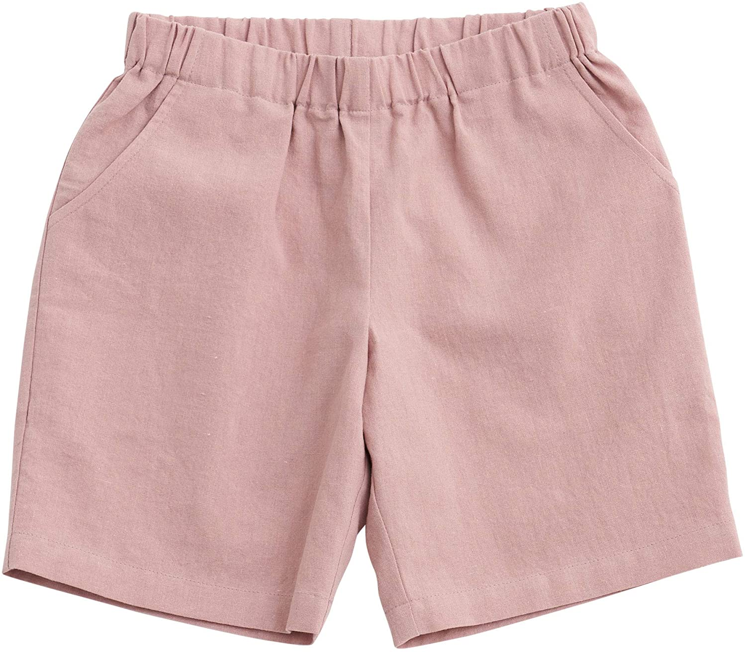 sebien Kids' Linen Basic Shorts