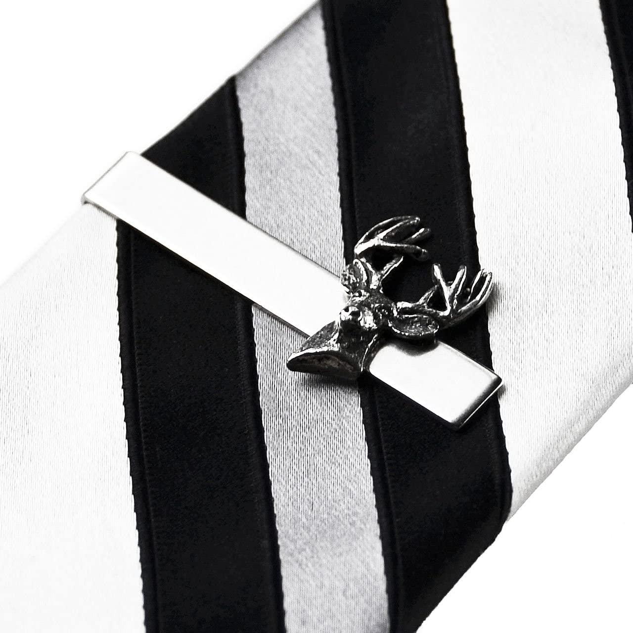 Quality Handcrafts Guaranteed Deer Tie Clip