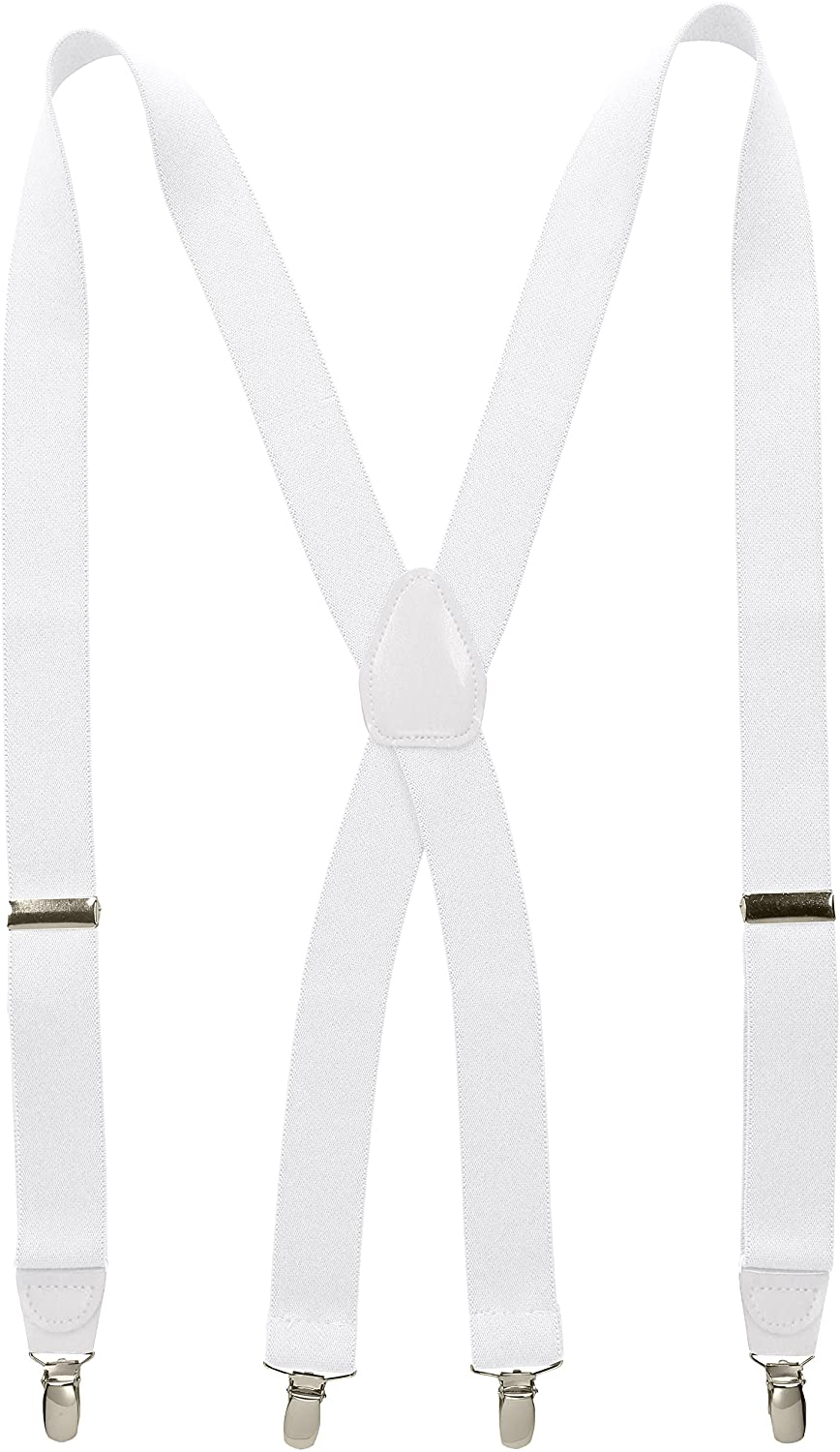 Wembley Men's 32 mm Solid Stretch Suspender