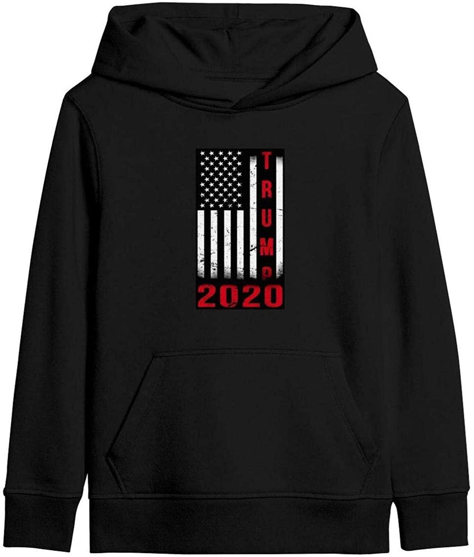 WENZI9DU Trump 2020 Hoodie for Youth Design Pocket Sweatshirt