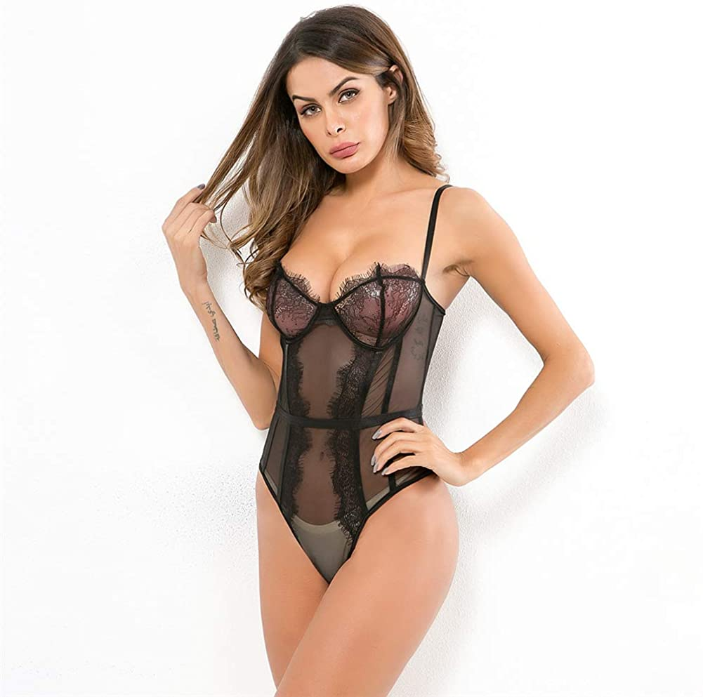 Avidwitch Sexy Lingerie Set of Feet Woman Solid Polyester