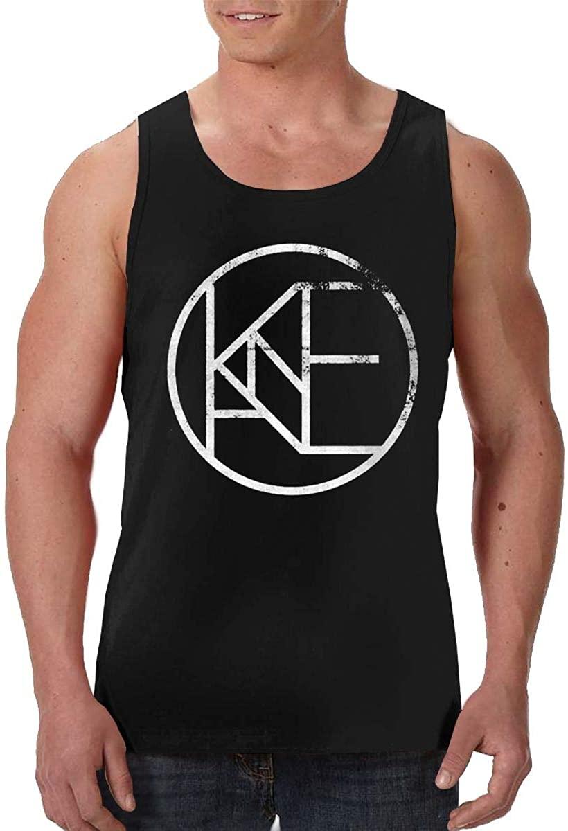 DamaYong Kane Brown Logo Mans Tank Top Shirt Crew Neck Sleeveless Soft Tee Vest Tops