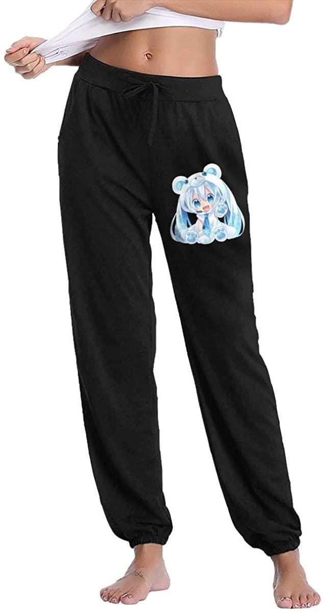 Veta Megica Hatsune Miku Fashionable Ladies Fitness Sportswear Trousers Sweatpants