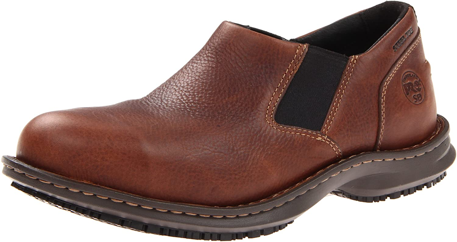 Timberland PRO Men's Gladstone ESD Work Shoe,Brown,10 W US