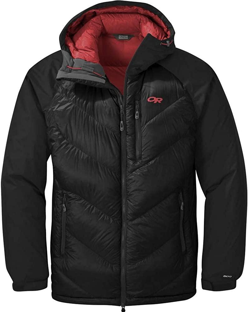Outdoor Research mens Men's Alpine Down Hooded Jacket